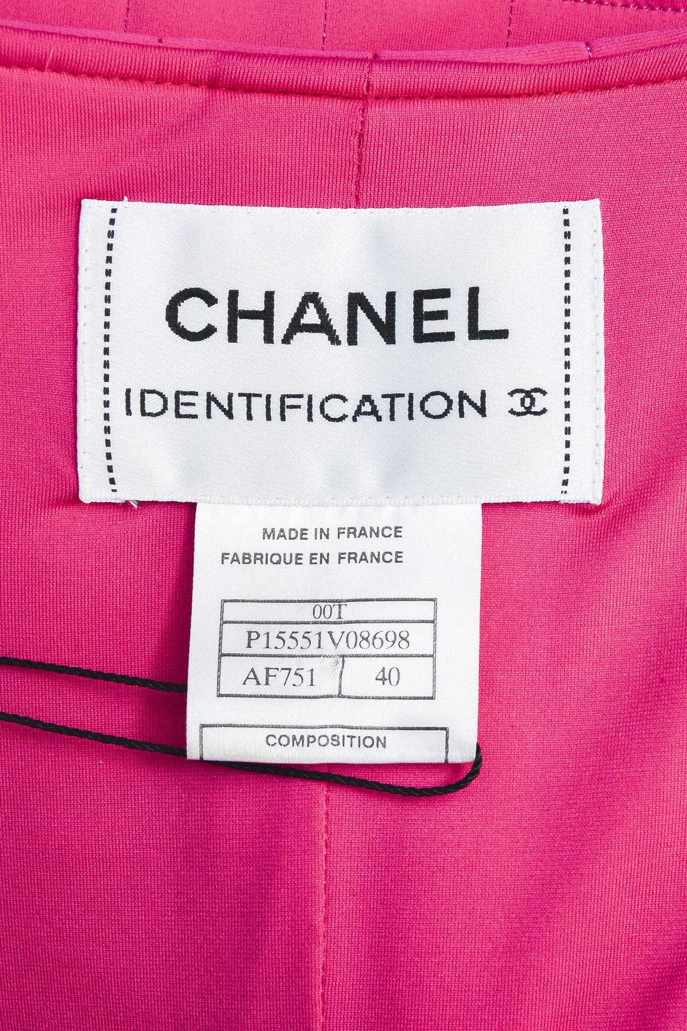 Hot Pink Chanel Padded Nylon Quilted Jacket Brand