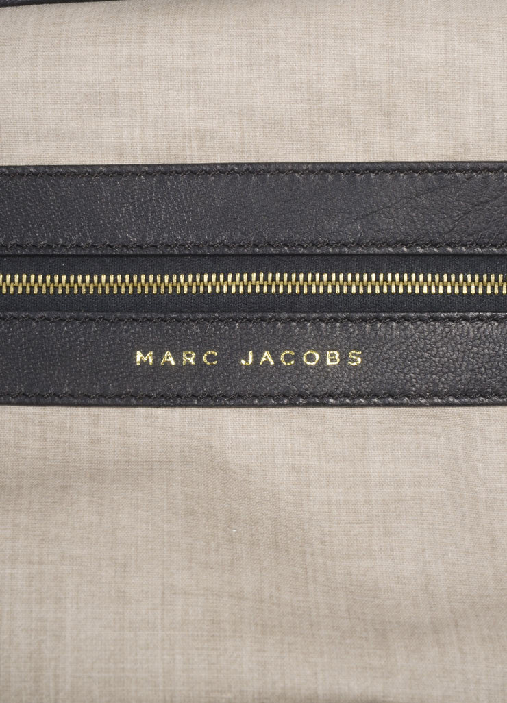 "Marc Jacobs Black Leather Quilted Chain Strap ""Stam"" Bag Brand"