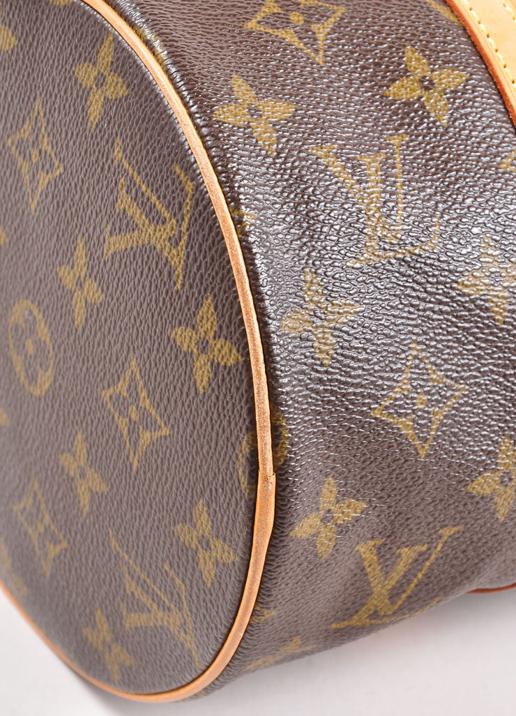 "Louis Vuitton Monogram Canvas ""Papillion 30"" Bag with Pochette Detail"