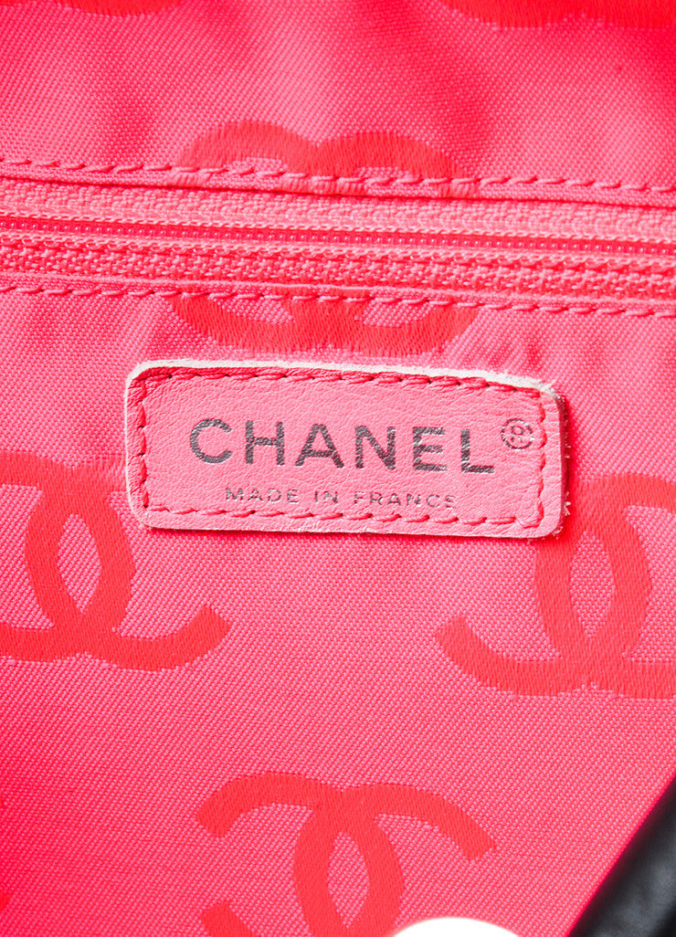 "Black Chanel Quilted Lambskin ""Ligne Cambon Bowler Bag"" Brand"