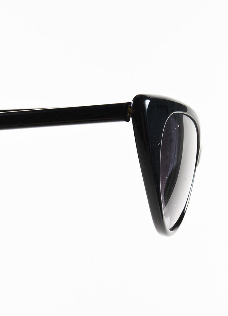 "Black Tom Ford Cat Eye ""Nikita"" Sunglasses Side"