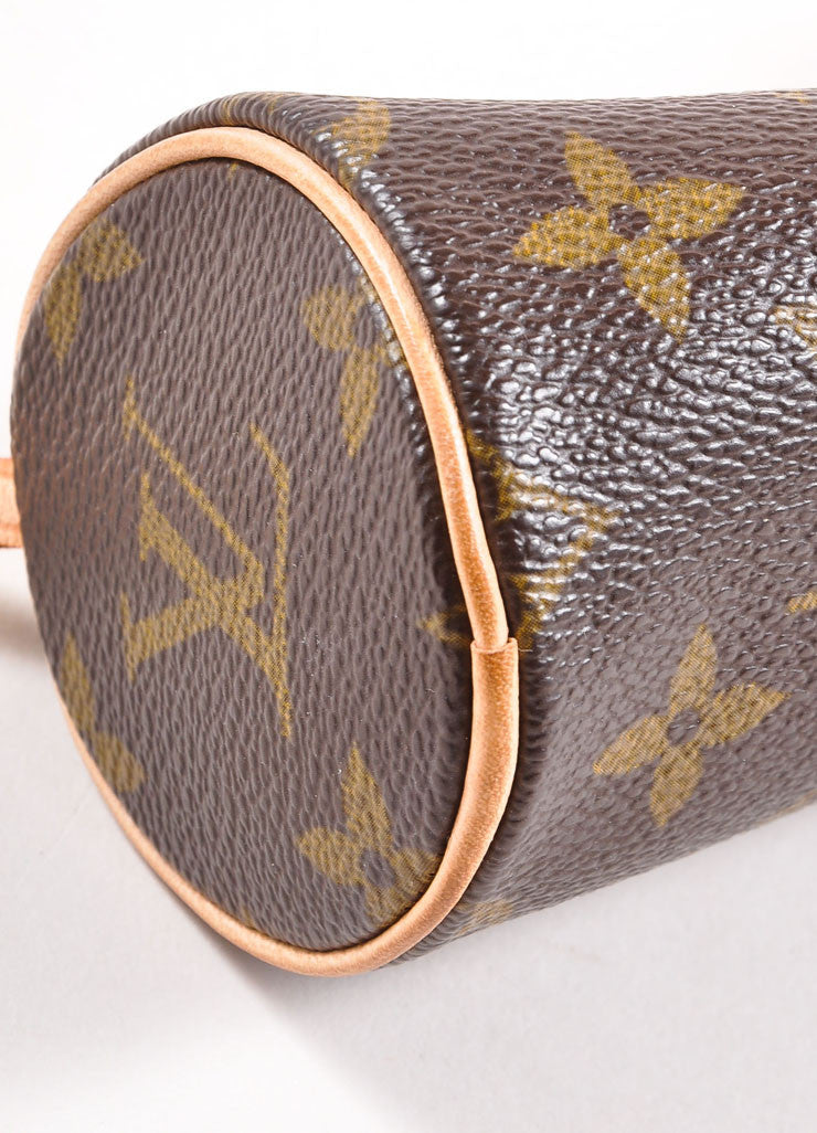 "Louis Vuitton Monogram Canvas ""Papillion 30"" Bag with Pochette  Detail 3"