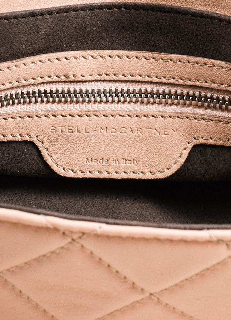 "Stella McCartney ""Beckett"" Pink Vegan Leather Shoulder Bag- brand"