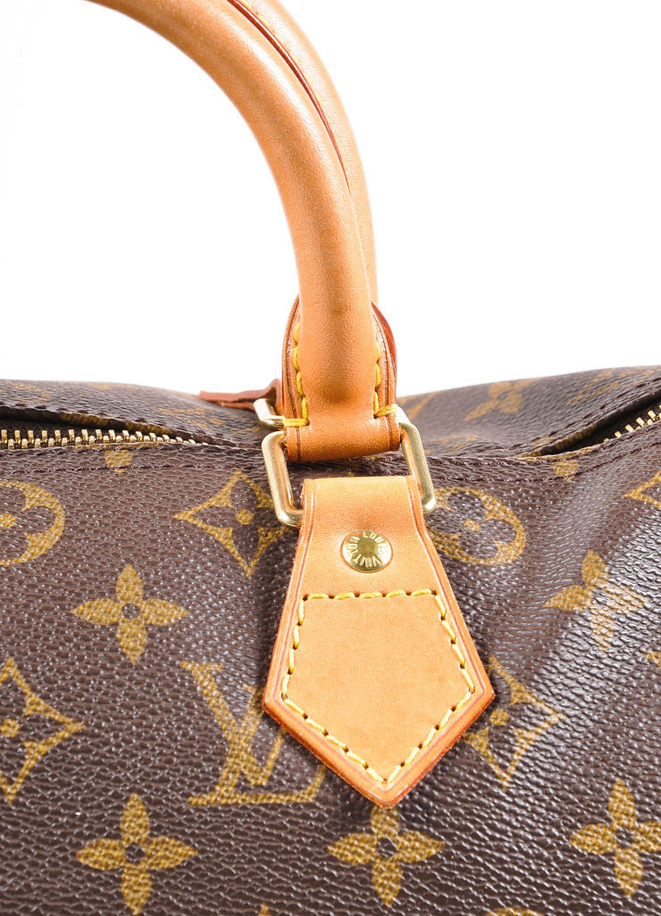 "Louis Vuitton Monogram Canvas ""Speedy 30"" Handbag Detail 2"