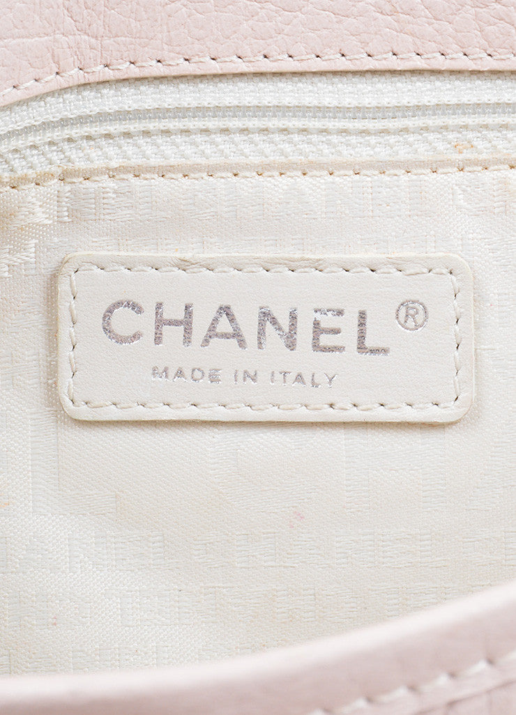 Blush Pink Chanel Reissue Chain Detail Shoulder Bag Brand