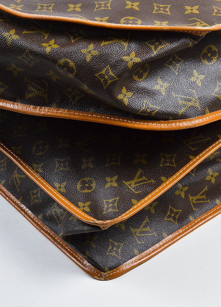 Louis Vuitton The French Luggage Company Monogram Canvas Garment Cover Detail
