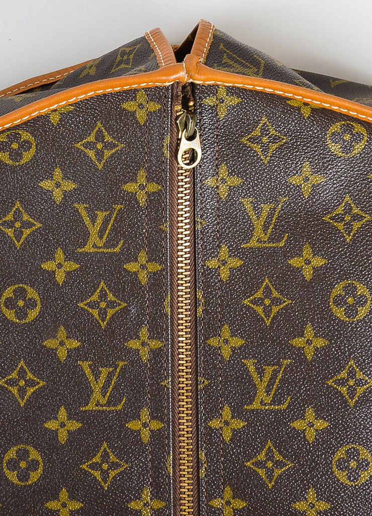 Louis Vuitton The French Luggage Company Monogram Canvas Garment Cover Detail 2