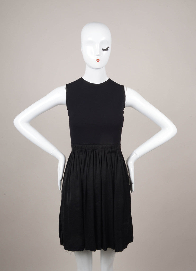 New With Tags Navy and Black Sleeveless Dress