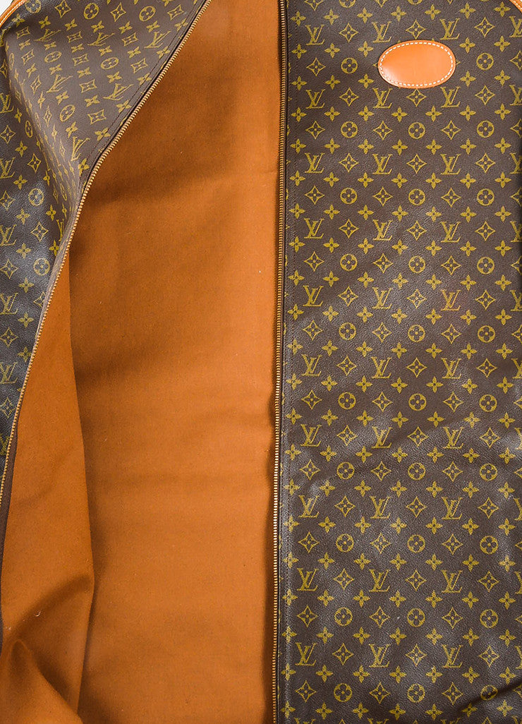 Louis Vuitton The French Luggage Company Monogram Canvas Garment Cover Interior
