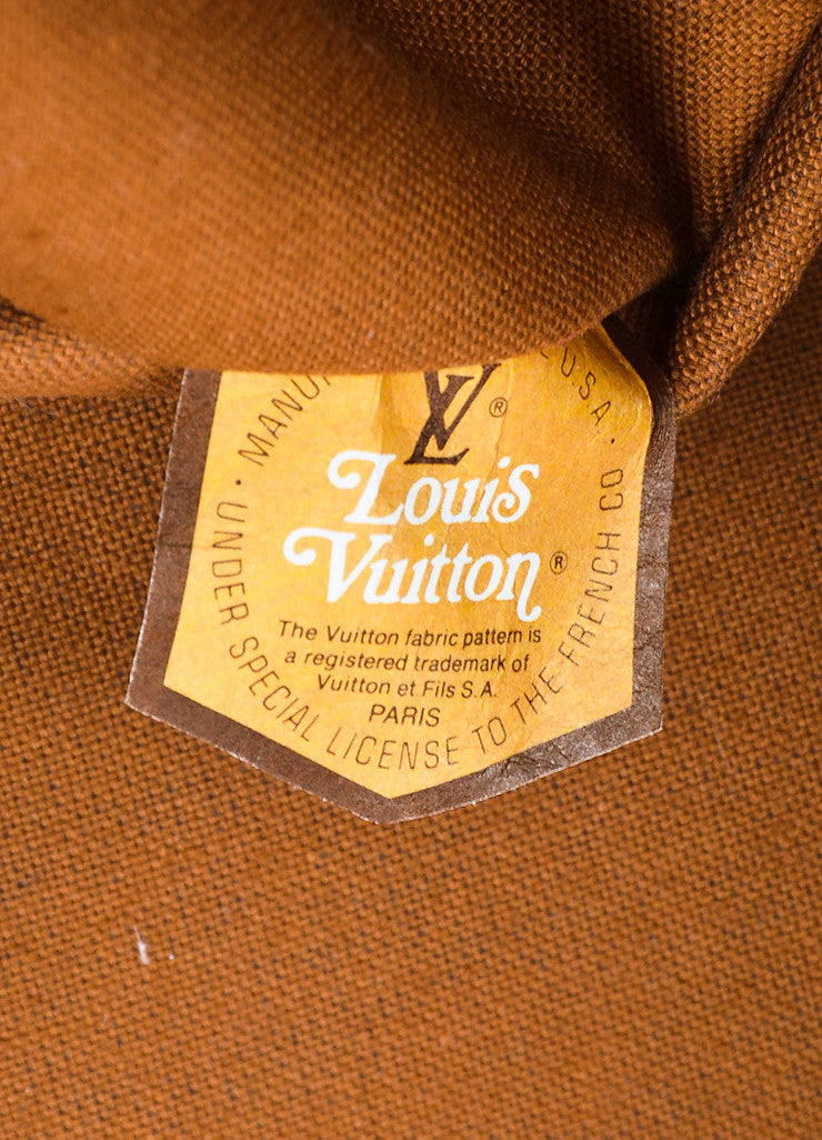 Louis Vuitton The French Luggage Company Monogram Canvas Garment Cover Brand