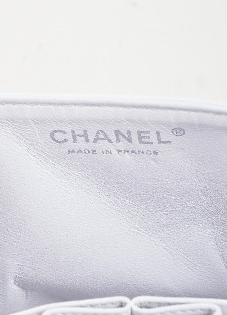 "White Aged Calf Skin Chanel ""New Mini"" 2.55 2005 Limited Ed Reissue Flap Bag Brand"
