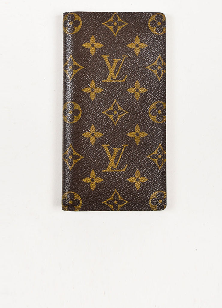 "Louis Vuitton Monogram Canvas ""Porte Valeurs Organiser"" Wallet Frontview"