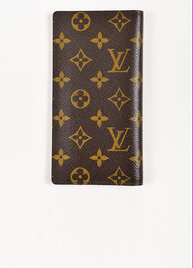 "Louis Vuitton Monogram Canvas ""Porte Valeurs Organiser"" Wallet Backview"
