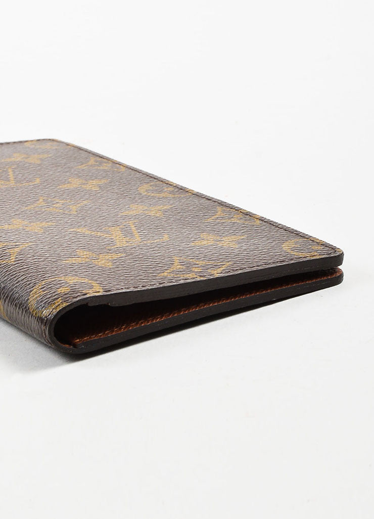 "Louis Vuitton Monogram Canvas ""Porte Valeurs Organiser"" Wallet Bottom View"