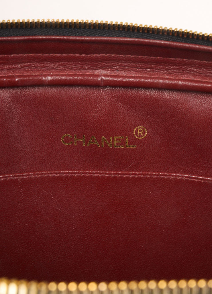 Chanel Black Quilted Leather Chain Strap Shoulder Bag Brand