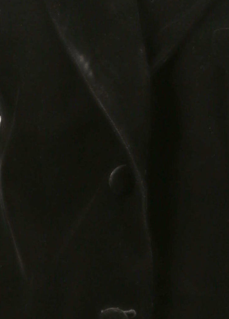 Yves Saint Laurent Black Velvet Blazer Detail