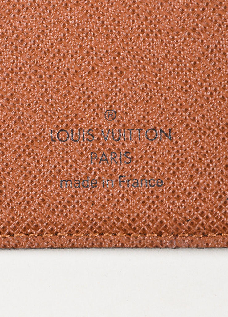 "Louis Vuitton Monogram Canvas ""Porte Valeurs Organiser"" Wallet Brand"