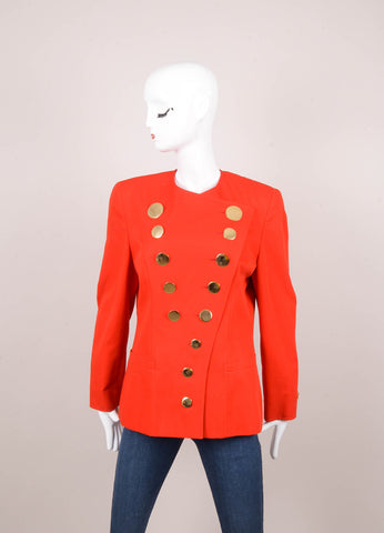 Red Bisang Couture for Neiman Marcus Cotton Jacket