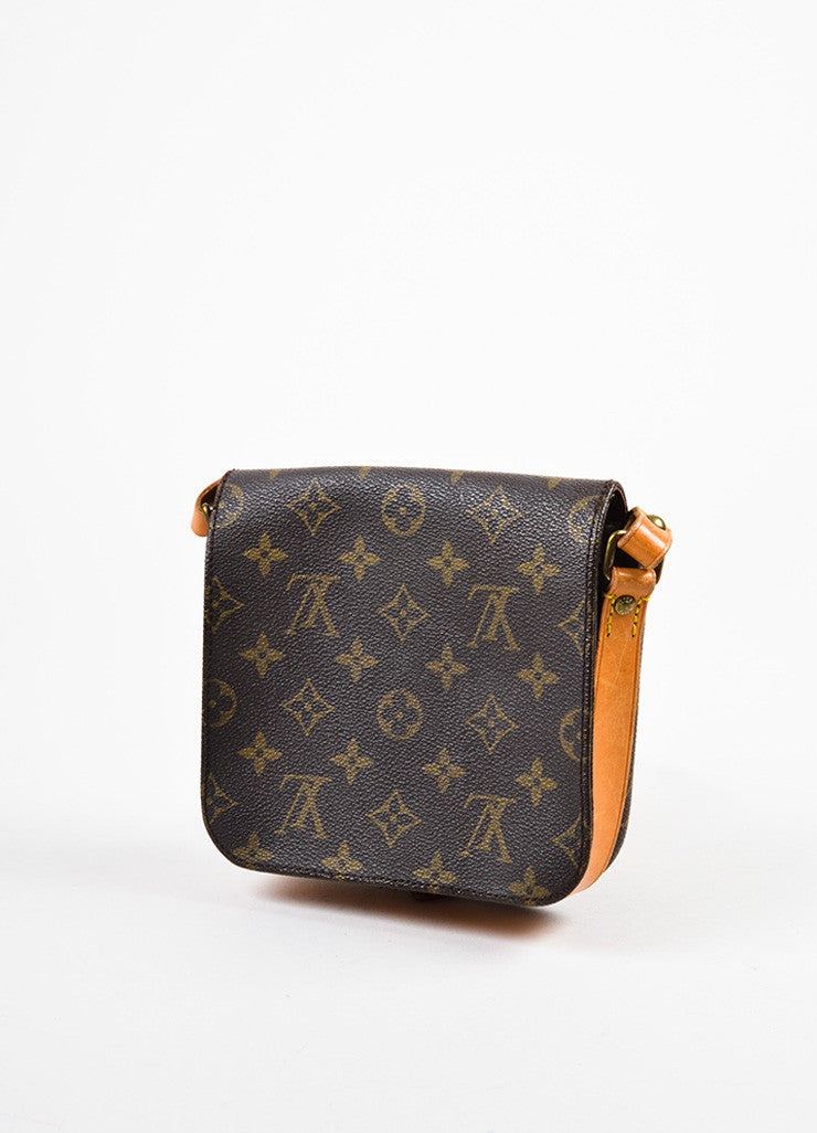 "Louis Vuitton Monogram Canvas ""Cartouchiere PM"" Crossbody Bag Sideview"