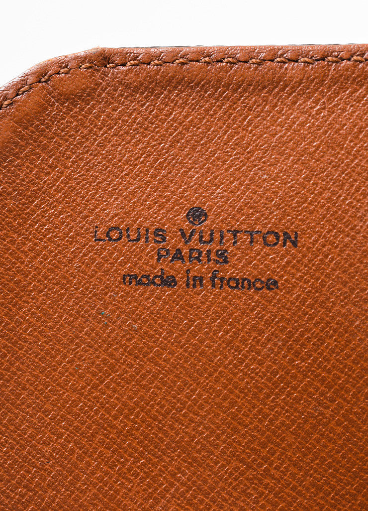 "Louis Vuitton Monogram Canvas ""Cartouchiere PM"" Crossbody Bag Brand"