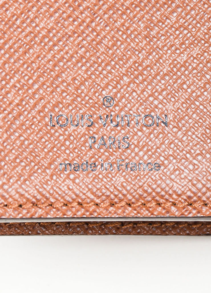 "Brown Louis Vuitton Monogram Canvas ""Joey"" Wallet Brand"