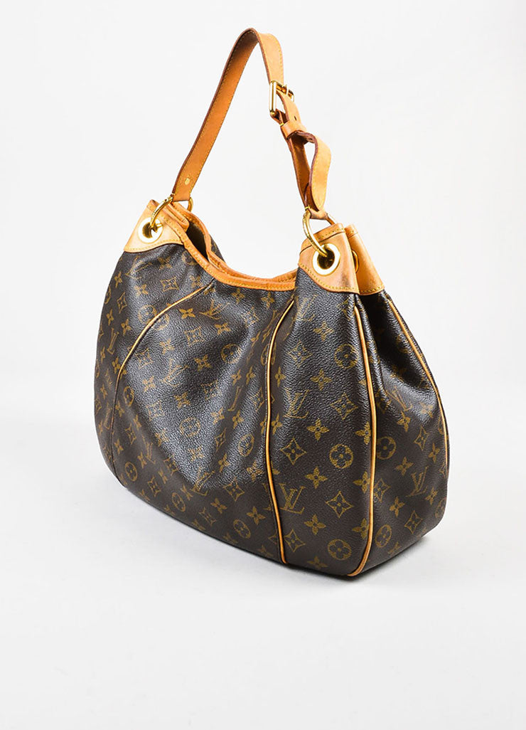 "Louis Vuitton Monogram Canvas ""Galleria PM"" Shoulder Bag Sideview"