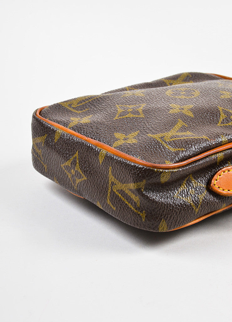 Louis Vuitton Monogram Canvas Crossbody Shoulder Bag Bottom View