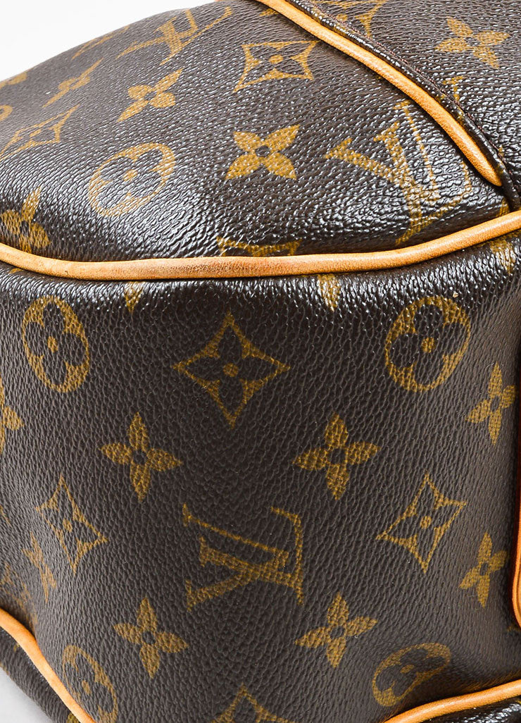 "Louis Vuitton Monogram Canvas ""Galleria PM"" Shoulder Bag Detail"