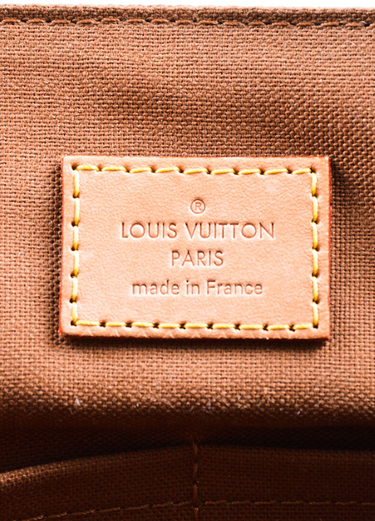"Brown and Tan Louis Vuitton Monogram Coated Canvas ""Beaubourg GM"" Messenger Bag Brand"
