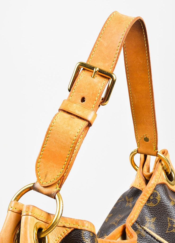 "Louis Vuitton Monogram Canvas ""Galleria PM"" Shoulder Bag Detail 3"