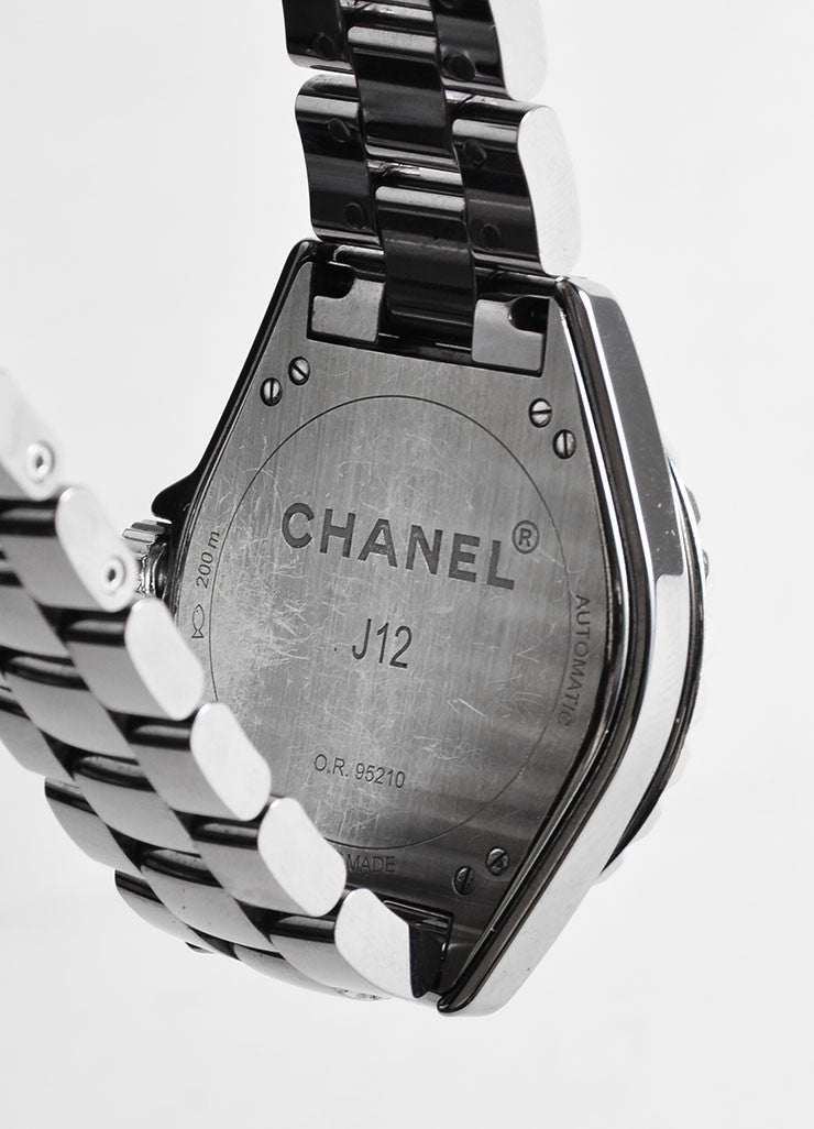Chanel Gunmetal Grey Ceramic and Titanium J12 Automatic Chromatic Watch Brand