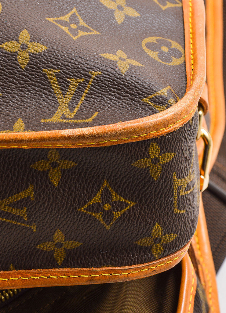 "Louis Vuitton Brown Monogram Canvas ""Garment Carrier Bag"""
