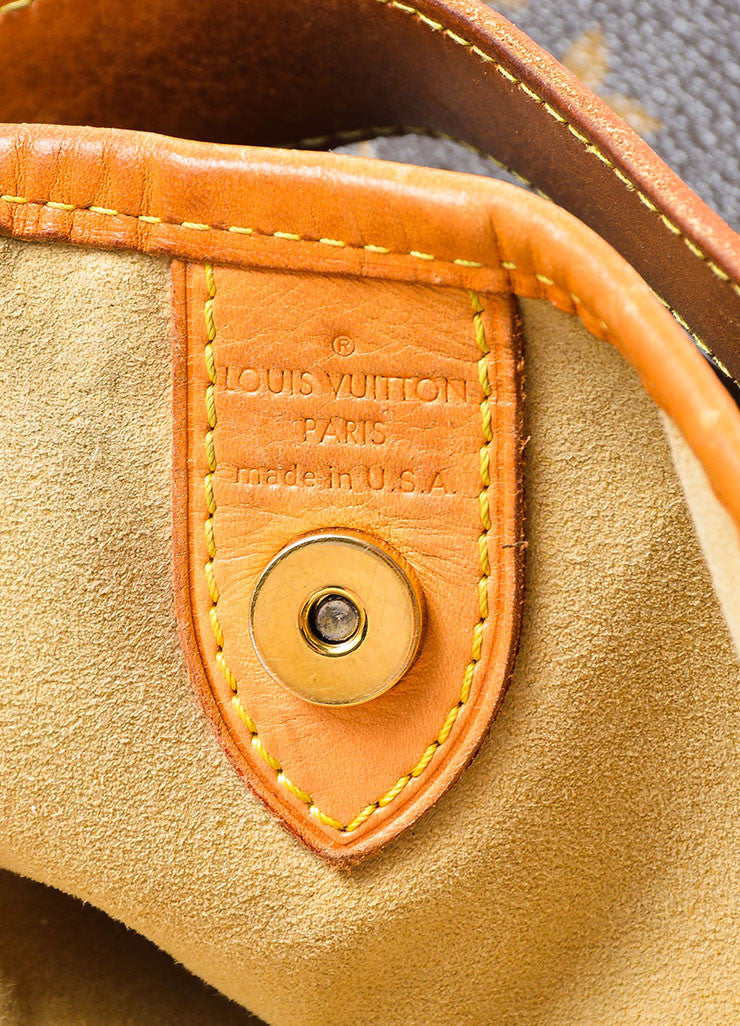 "Louis Vuitton Monogram Canvas ""Galleria PM"" Shoulder Bag Brand"