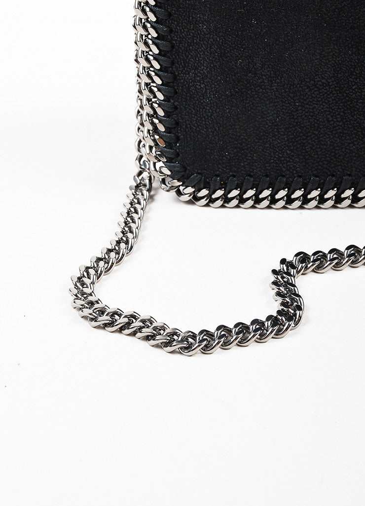 "Stella McCartney Black ""Falabella Shaggy Deer"" Crossbody Pochette Detail 2"