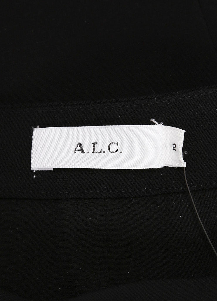 A.L.C. New With Tags Black Crystal Embellished Pencil Skirt Brand
