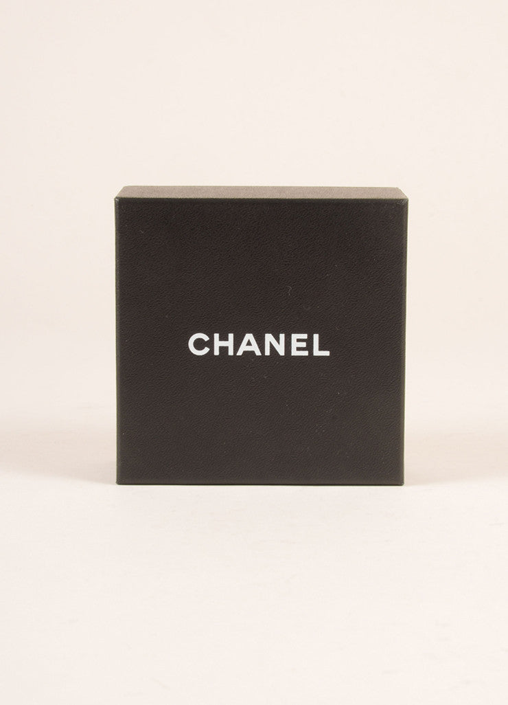 Chanel White Flower Pin Box