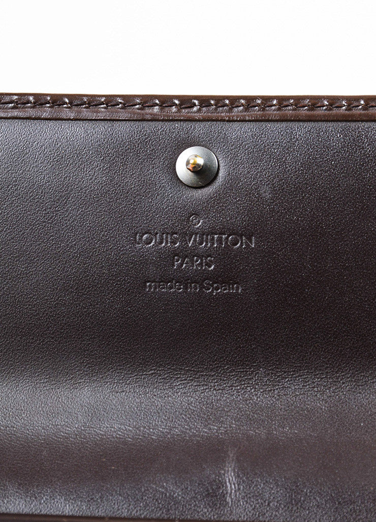 "Louis Vuitton Brown Epi Leather ""Porte Tresor International"" Wallet Brand"