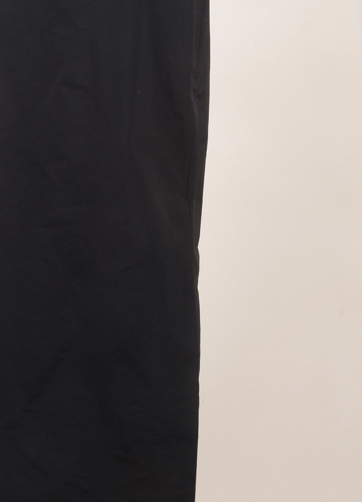 Rosie Assoulin New With Tags Black Floor Length Maxi Skirt Detail