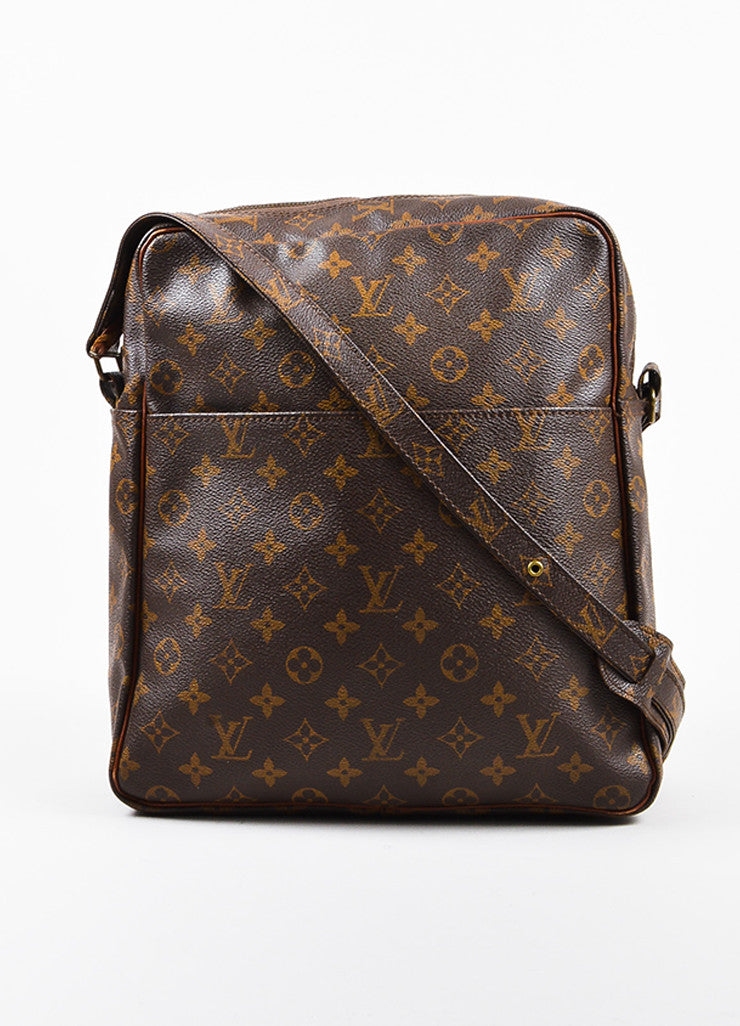 "Louis Vuitton Monogram Canvas ""Marceau"" Shoulder Bag Frontview"