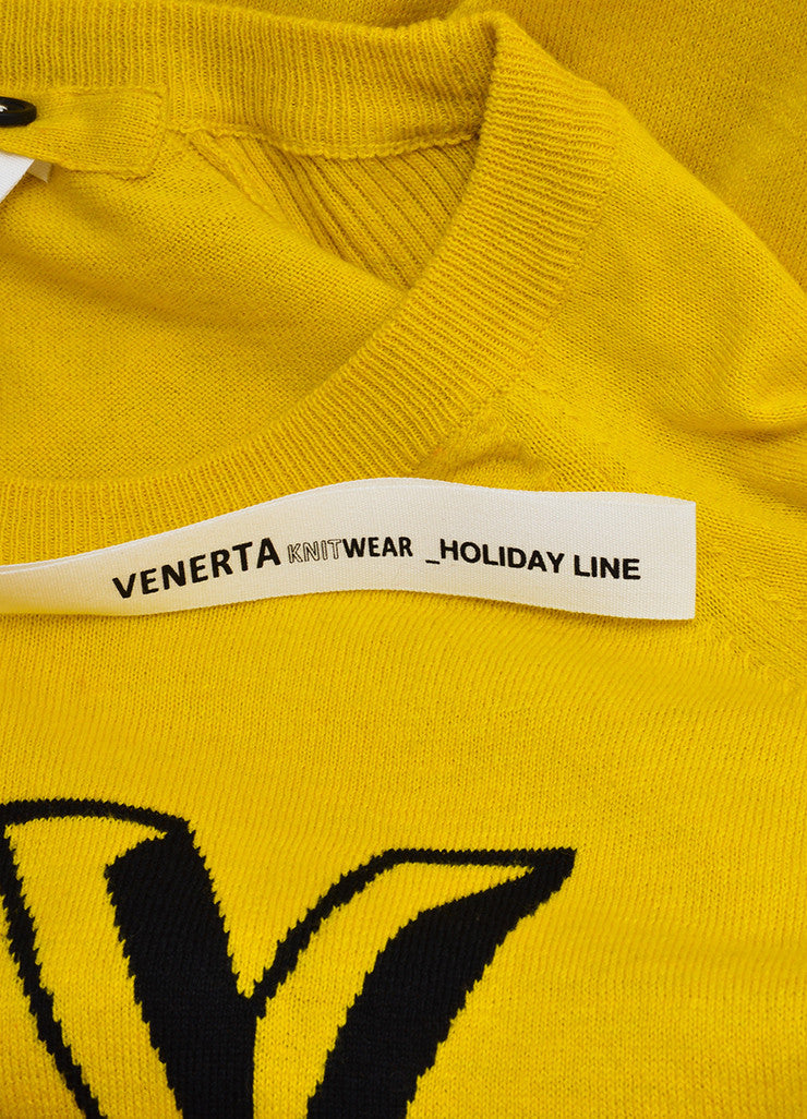 "Yellow, Black, and Red Venerta ""NY"" Long Sleeve Sweatshirt Sweater Brand"