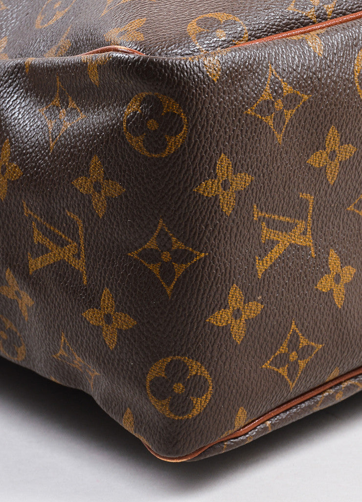 "Louis Vuitton Monogram Canvas ""Marceau"" Shoulder Bag Detail"