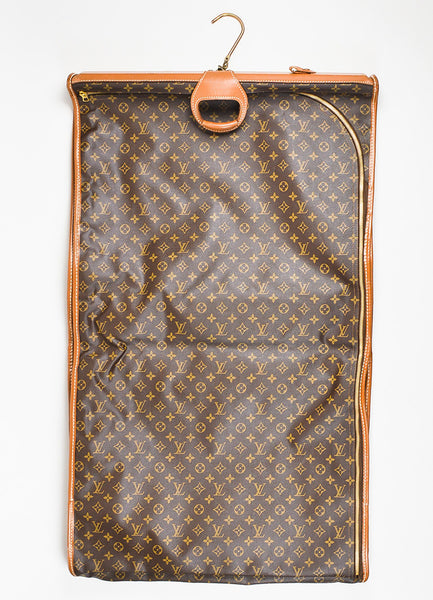 Brown Louis Vuitton The French Luggage Company Canvas