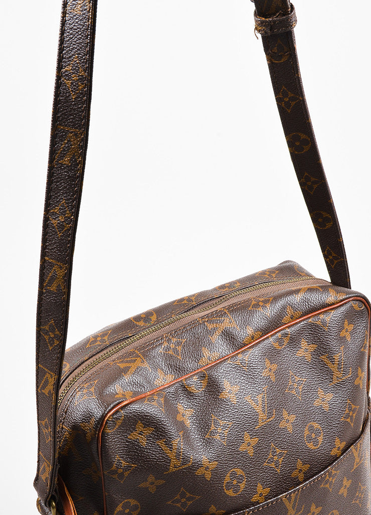 "Louis Vuitton Monogram Canvas ""Marceau"" Shoulder Bag Detail 2"