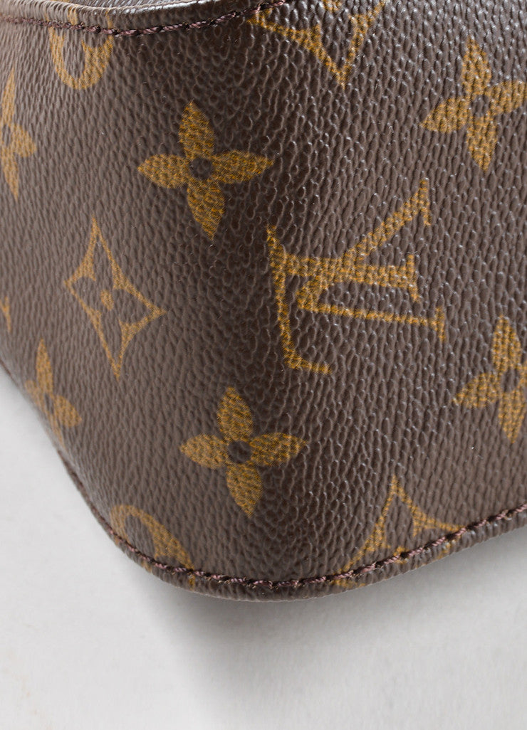 Louis Vuitton Brown Monogram Canvas Mini Looping Bag Detail