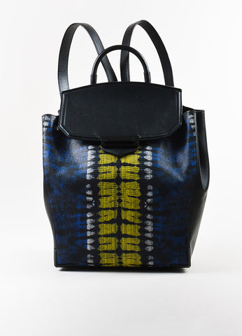 "Alexander Wang Lizard Embossed ""Prisma Skeletal"" Backpack front"