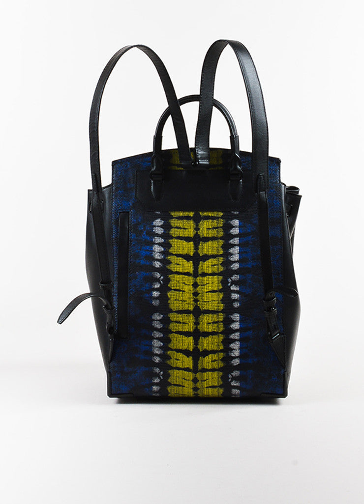 "Alexander Wang Lizard Embossed ""Prisma Skeletal"" Backpack back"