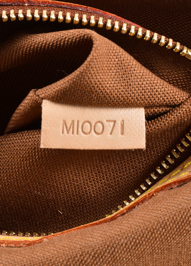 Louis Vuitton Brown Monogram Canvas Mini Looping Bag Date Code