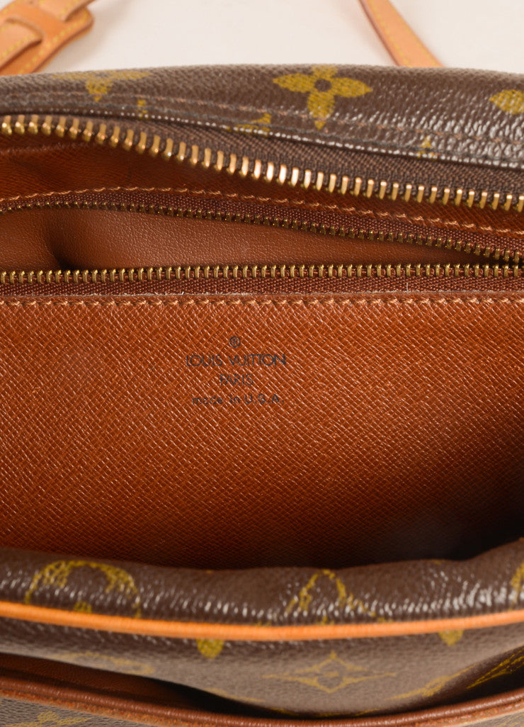 Louis Vuitton Brown Monogram Canvas Trocadero 27 Shoulder Bag Brand