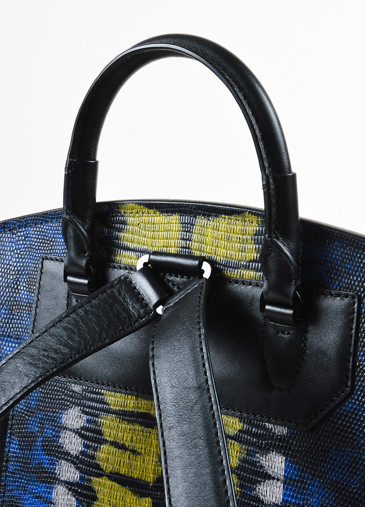 "Alexander Wang Lizard Embossed ""Prisma Skeletal"" Backpack handle"