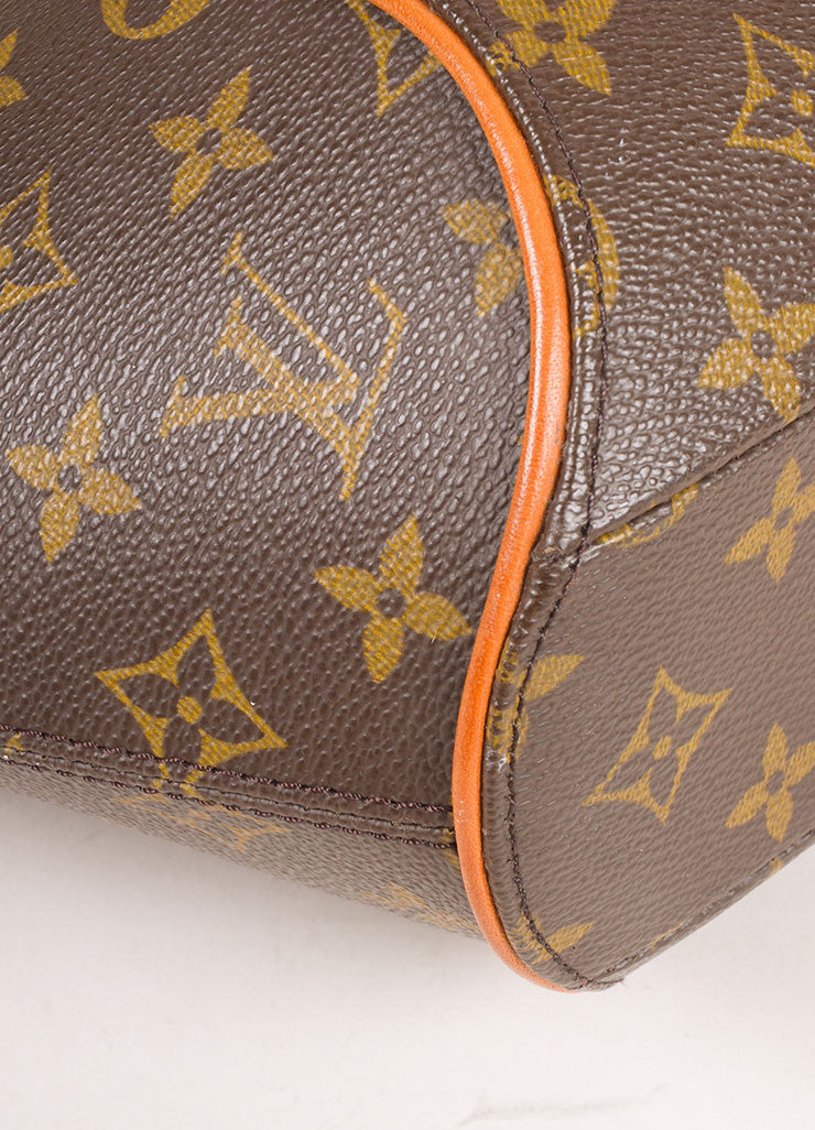 "Louis Vuitton Brown Coated Monogram Canvas Hardshell ""Ellipse PM"" Handbag Detail 2"